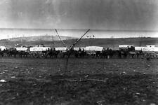 New 5x7 Civil War Photo: Ammunition Wagon Train at Coles Hill, Stevensburg