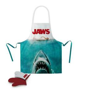 SD Toys - Apron Grill-Schürze & Gloves White Shark - Jaws - New/Original Package