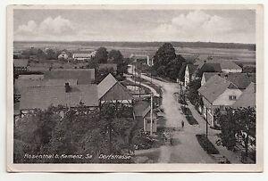 Ak Rosenthal At Kamenz Saxony Village Street To 1935! (A1215
