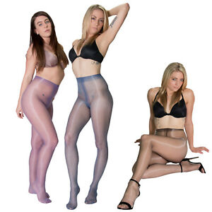 Cecilia de Rafael Eterno 15 Pantyhose Glossy Shiny Tights Nylons - 14 Colors
