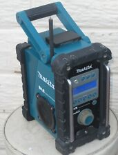 MAKITA 18V LXT BMR101 JOB SITE RADIO DAB/FM/AUX CAN WORK WITH MAIN & BATTERY