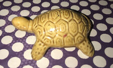 Vintage porcelain miniature turtle made in Japan