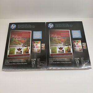 """2 Packs HP Enhanced Business Paper Matte Brochure Paper 8.5"""" x 11"""" Q6543A"""