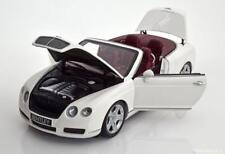 Minichamps 2006 BENTLEY CONTINENTAL GTC WHITE 1/18 Scale. Hard to find!