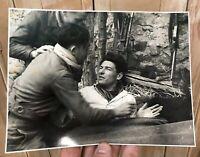 Grand Format Photo Photographie Résistance Maquis WW2 Ancien Résistant Guerre