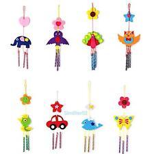 Kids Child DIY Wind Chimes Bells Developmental Educational Puzzle Toys Craft Kit