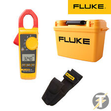 Fluke 324 True RMS Digital Clamp Meter KIT1K, H3 Holster & C1600 Tool Box Case