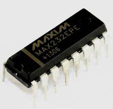 Circuit intégré Maxim MAX 232 EPE DIP-16 RS232 driver receiver TTL converter