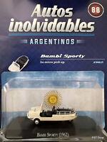 Bambi Sporty (1962) Diecast 1:43 Autos inolvidables Arg