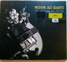 █► CD MODERN JAZZ QUARTET 1963 Monterey Jazz Festival DOUGLASAD-07 3660341145845