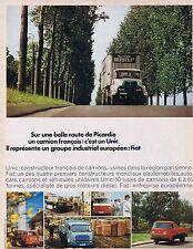 Publicité Advertising 016 1968 Unic Fiat camions et utilitaires