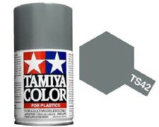 TAMIYA COLOR AIRSPRAY TS-42 LIGHT GUN METAL 100ml