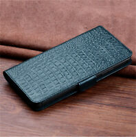 Corcodile Genuine Leather Flip Case with Card/Cash Slots for OPPO Find X2 Pro