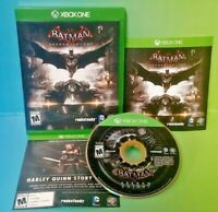 Batman: Arkham Knight  - Microsoft Xbox One Game - Tested ! XBOX 1 Complete !