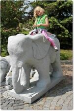 Gartenfiguren & -skulpturen mit Elefanten aus Stein