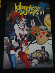 HARLEY QUINN poster DETECTIVE 23.2 variant original commercially produced BG EYE