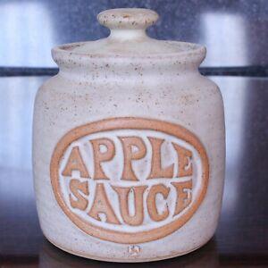Nicely made LOUIS HUDSON Lidded Apple Sauce Pot