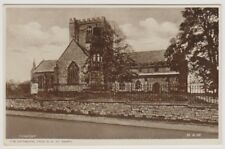 Wales postcard - The Cathedral from S.W, St Asaph