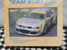 Team Slot slotkit SEAT LEON 'Silueta' 90101 1:32 nuevo viejo Stock En Caja