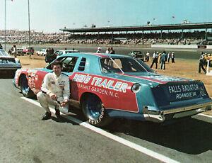 Buddy Arrington Dodge Magnum Post Card - 1980
