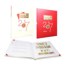 China 2017-1 2017-31 Album Whole Year Rooster FULL Stamps, 中国邮票年册, booklet