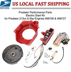 *NEW* HARBOR FREIGHT PREDATOR 212CC 6.5HP ENGINE ELECTRIC START CONVERSION KIT