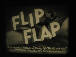 16mm Film Flip Flap Cartoon Sound 1948 Black/White Noveltoon Fab Con