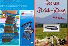 STRICK-Ding Socken stricken ohne Nadeln Gr. L mit Buch T2 von I.Dörfel