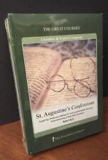 THE GREAT COURSES St. Augustine's Confessions Parts 1 & 2 [2 DVDs & Guidebook]
