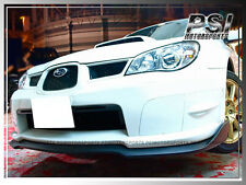 2006-2007 Subaru Imperze STI GDF Carbon Fiber Front Bumper Add-On Lip WRX CF