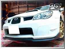 2006-2007 Subaru Imperze STI GDF Carbon Fiber Front Bumper Add-On Lip WRX CF