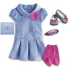 American Girl Sweet School Doll Outfit Dress Charm Shoes NEW IN BOX