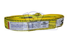 Lifting Web Sling 2 X 20 Ft One Ply Flat Eye Type 3 Polyester