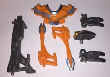 2005 Bandai POWER RANGERS SPD Action Figure SHADOW BATTLIZED ARMOR Weapon Parts