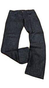 Nudie Jeans lean dean W33 L34 Dry Deep Dark