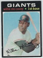 1971 TOPPS WILLIE McCOVEY #50 SAN FRANCISCO GIANTS NICE L@@K