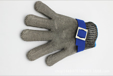 Glove Safety Cut Size M Proof Stab Resistant Stainless Steel Metal Mesh Butcher