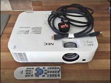 Proyector Nec ME301W 3LCD 6000:1 3000 Lúmenes ANSI 1280 X 800 (2.9 kg) al por menor £ 530