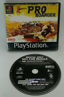 X-Games: Pro Boarder RENTAL COPY Video Game for Sony PlayStation PS1 PAL TESTED