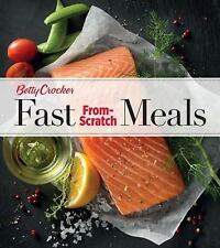 Fast Meals From Scratch Recipes Betty Crocker Cookbook Cook Book