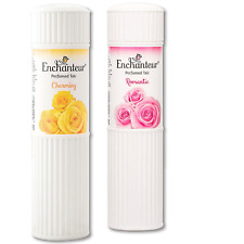 Enchanteur Charming & Romantic Women Perfumed Talc Combo Pack of 2 x 250gm