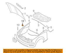 FORD OEM 05-14 Mustang-Hood Rubber Bumper Cushion 5R3Z16758BA
