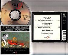 SVIATOSLAV RICHTER In Prague Live LISZT RAVEL Etudes/Valses Noble etc CD 1956/65