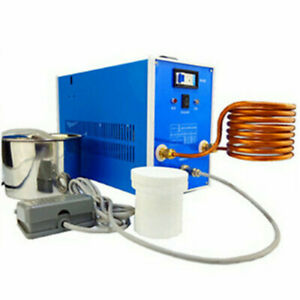 High frequency induction welding machine quenching melting furnace 220V