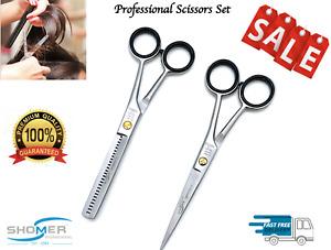 Professional Hairdressing Scissors Barber Salon Hair Cutting Thinning Shears Set