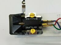 Shure V15 Type III Cartridge & Special Tracking  Needle With T-17 Headshell
