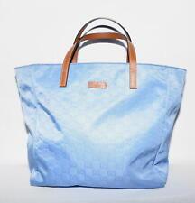 Original GUCCI Tasche Monogram Canvas Nylon Tote Bag 282439