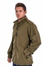 IDF Double-Side (Olive&Black) Fleece Coat Jacket - Israeli Army Standard