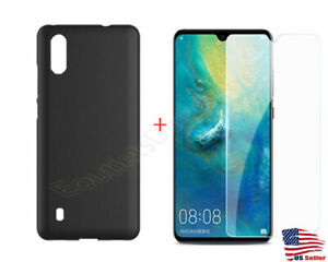 New Soft Slim TPU Case Cover And + 9H Tempered Glass For ZTE Blade A5 2020