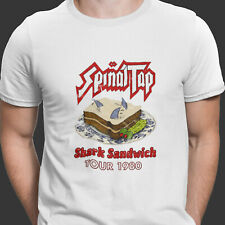 Spinal Tap Band Shark Sandwich Funny S-XXL Heavy Metal Rock T Shirt Movie Tee